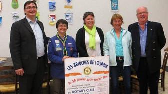 REVUE DE PRESSE - OUEST-FRANCE - Élan de générosité au Rotary club