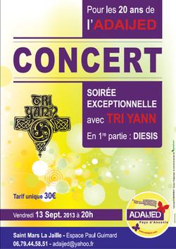 20 ans ADAIJED Concert Tri-Yann 2013
