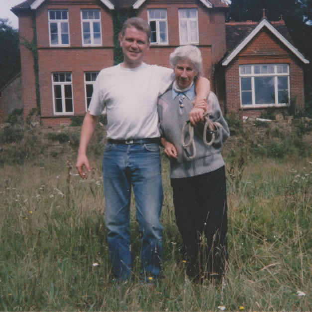 Rosine de Bounevialle & Colin Todd. Mid 90's