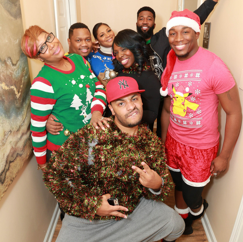 QB 3 Ugly Sweater Party