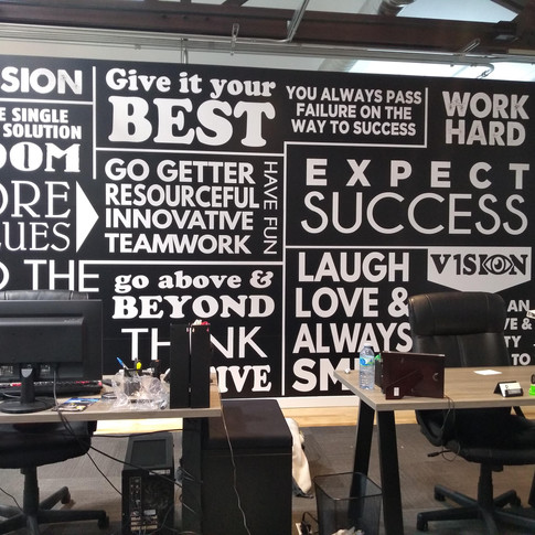 Office Word Wall