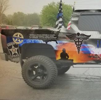 Personal Truck- Sticker Dude