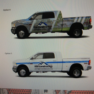 Truck Wrap Concepts- Sticker Dude