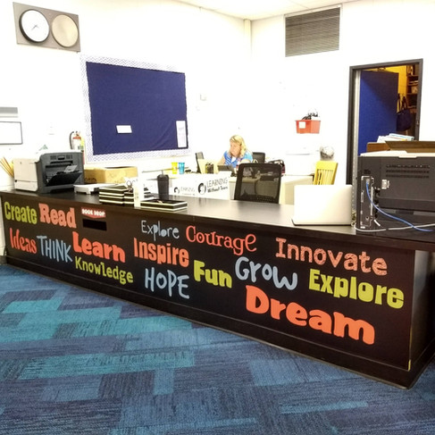 School Word Desk