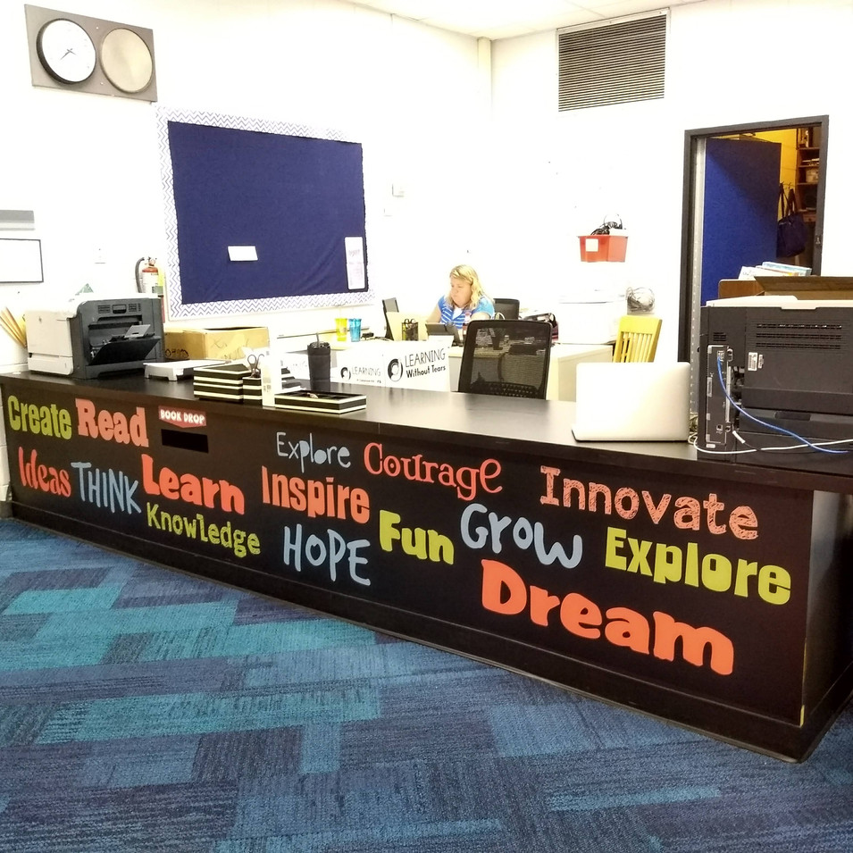 School Word Desk