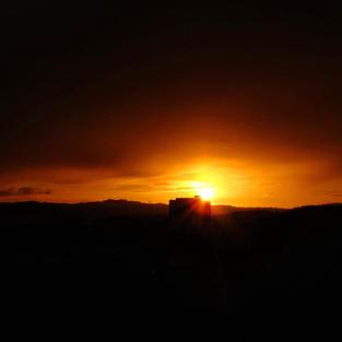 Glasgow City Sunset