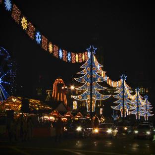 George Square Christmas Market