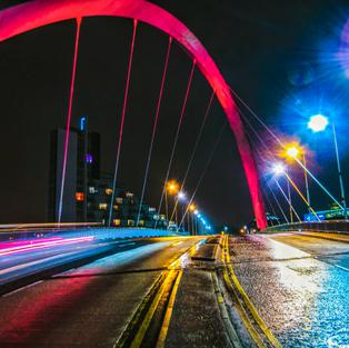 The Clyde Arc (Squinty Bridge)