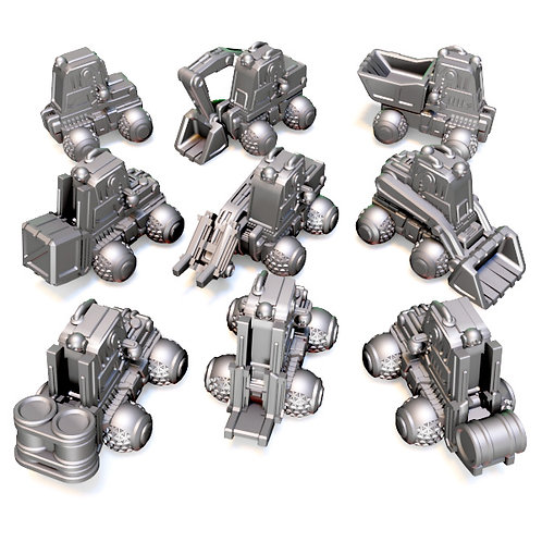Construction Unit (set of 5)