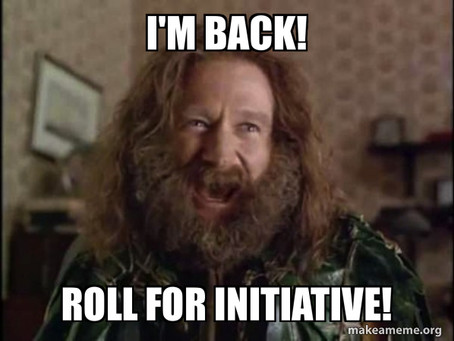#diceday - Roll for Initiative!