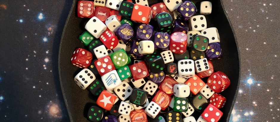 #diceday - Our Six-Faced Time Lord