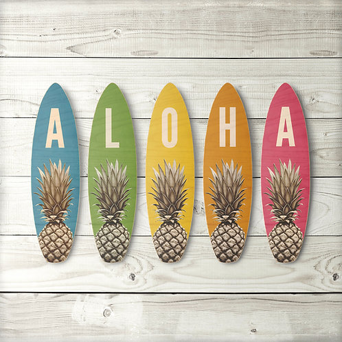 Aloha Surfboard Set