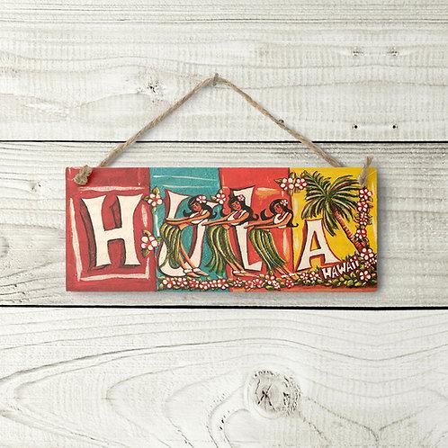 Small Hula Sign