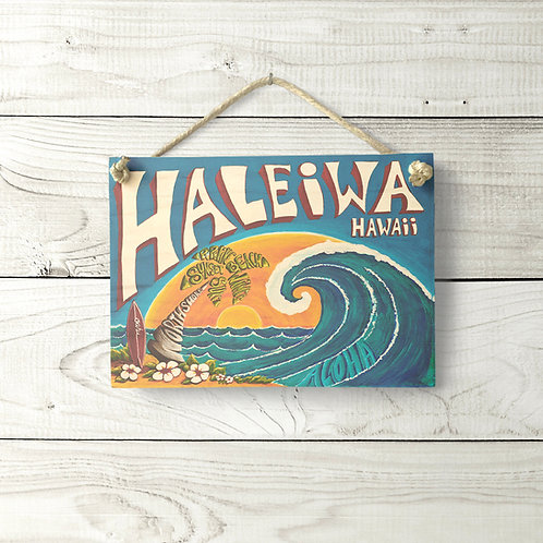 5x7 Haleiwa Sign