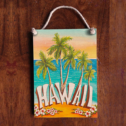 5x7 Hawaii Sign