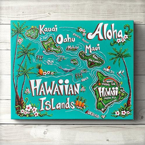 Original Map of Hawaii