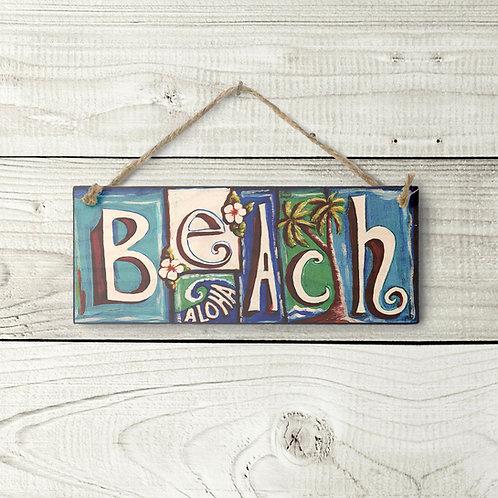 Small Beach Sign