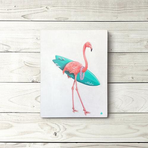 Original Flamingo Surfer Original