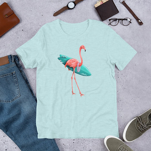 Surfing Flamingo T-shirt