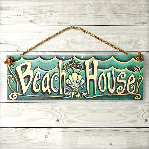 Beach House Large Sign