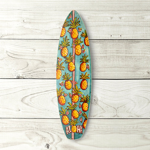 Pineapple Surfboard