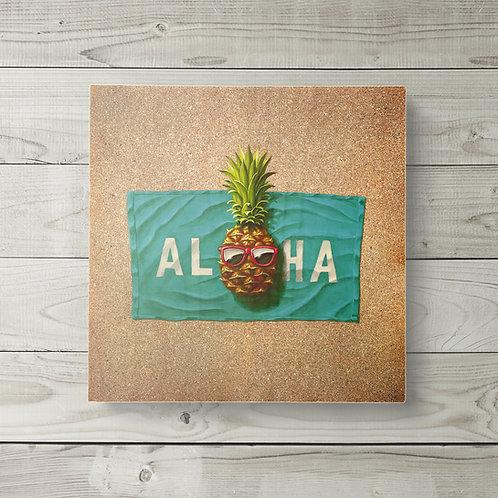 12x12 Aloha Pineapple