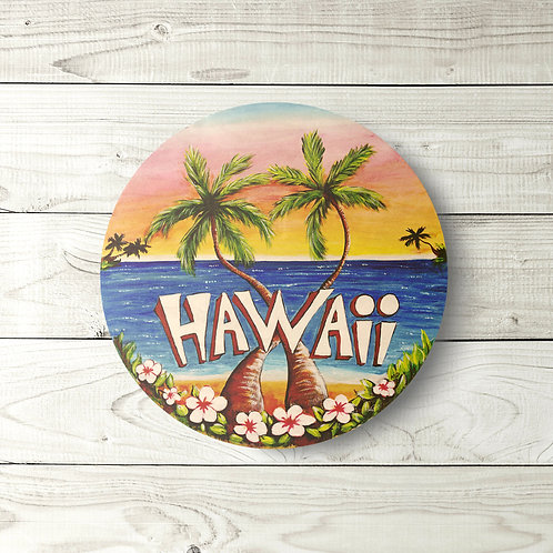 Hawaii Circle Sign