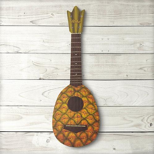 Pineapple Ukulele Sign