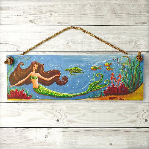 Mermaid Large Sign
