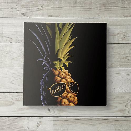 12x12 Cool Pineapple