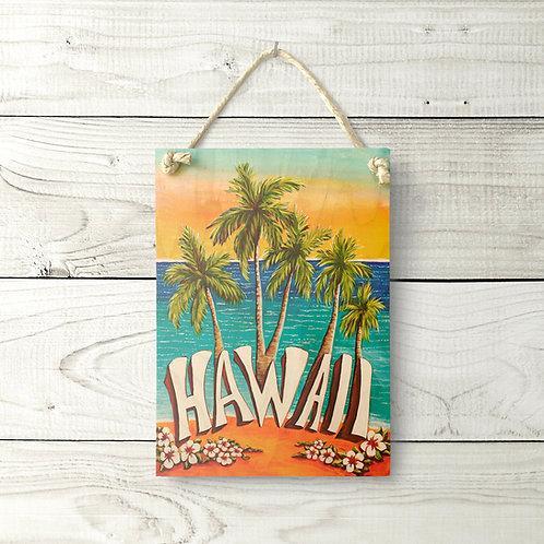 5x7 Hawaii Sign