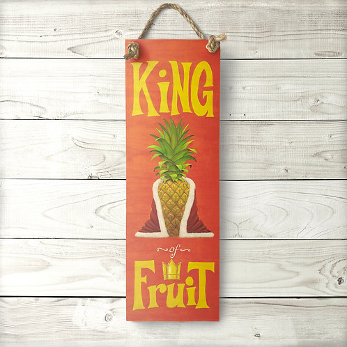 King of Fruit Large Sign