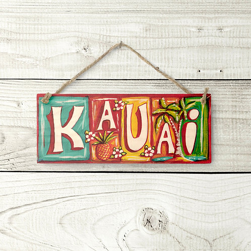 Small Kauai Sign