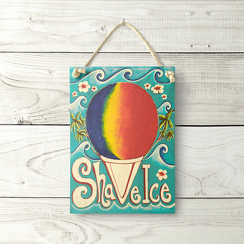 5X7 Shave Ice Sign