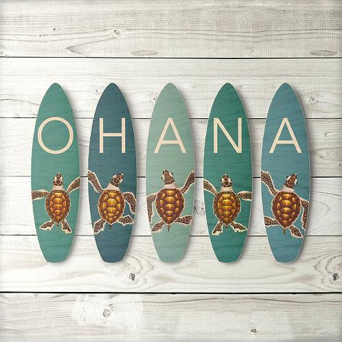 Ohana Surfboard Set