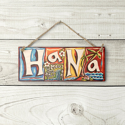 Small Hana Sign