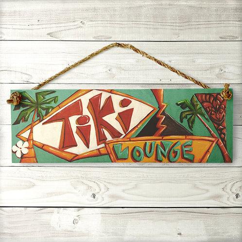 Large Tiki Lounge Sign