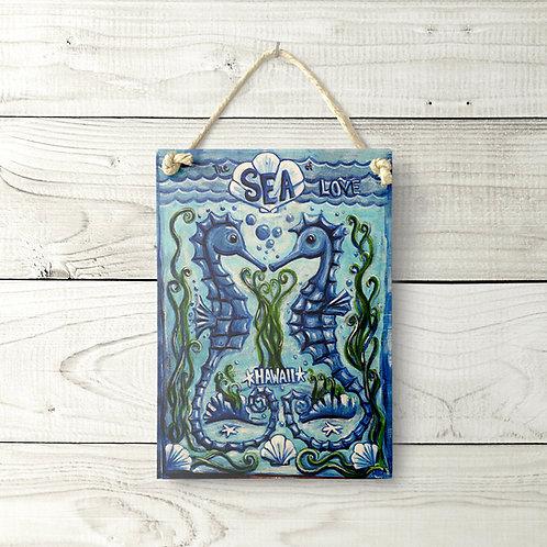 5x7 Seahorse Sign