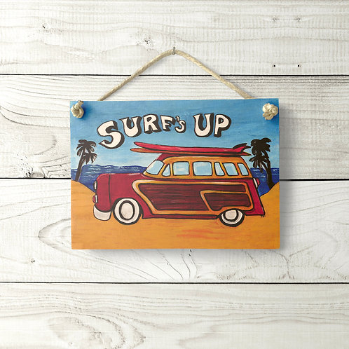 5x7 Surf's Up Sign