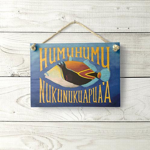 5x7 Humuhumu Sign