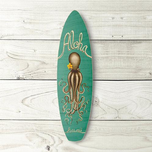 Aloha Octopus Surfboard
