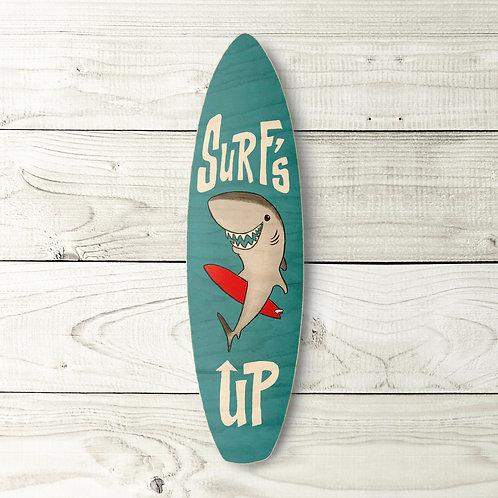 Surf's Up Shark Surfboard
