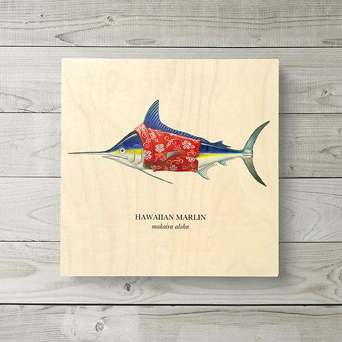 12x12 Hawaiian Marlin