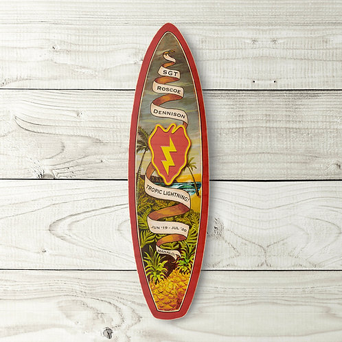 Customizable PCS Gift Surfboard (Red)