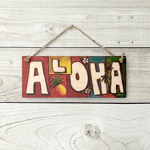 Small Aloha Sign