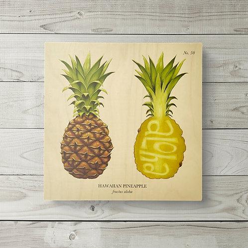 12x12 Hawaiian Pineapple