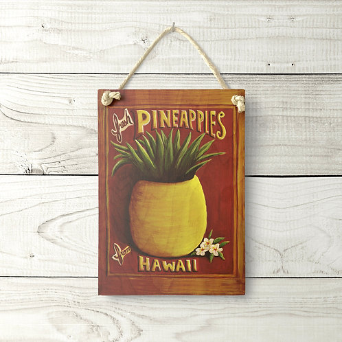 5x7 Pineapple Sign