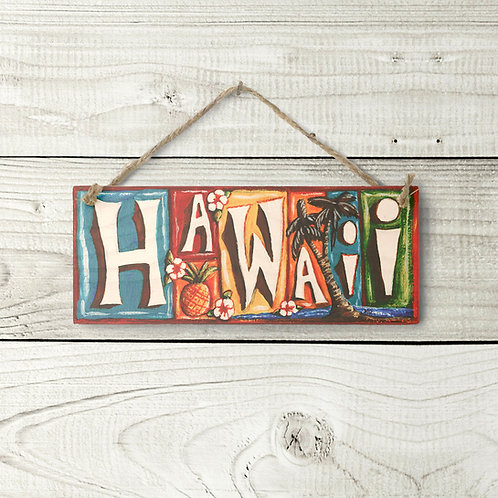 Small Hawaii Sign