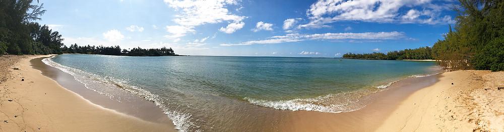 beach on north shore oahu