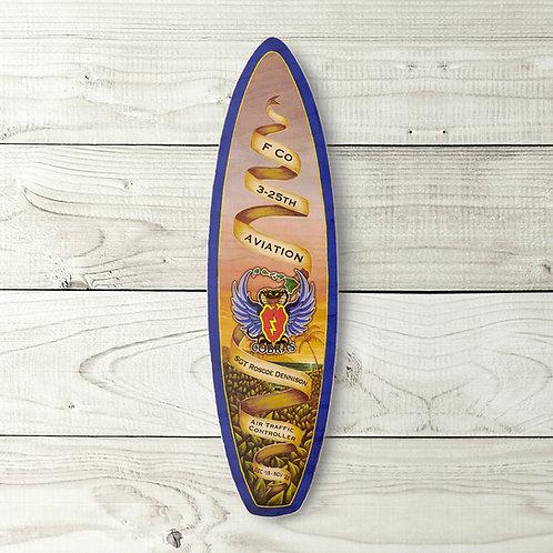 Customizable PCS Gift Surfboard (Blue)